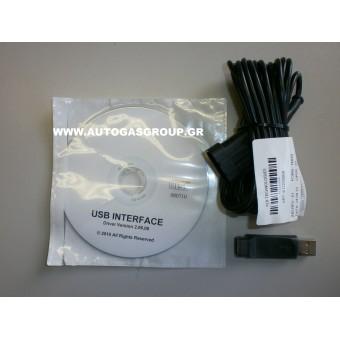 USB ΚΑΛΩΔΙΑ ΔΙΑΓΝΩΣΕΩΝ ΣΥΣΤΗΜΑΤΩΝ LPG/CNG LOVATO