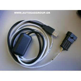 USB ΚΑΛΩΔΙΑ ΔΙΑΓΝΩΣΕΩΝ ΣΥΣΤΗΜΑΤΩΝ LPG FERONI