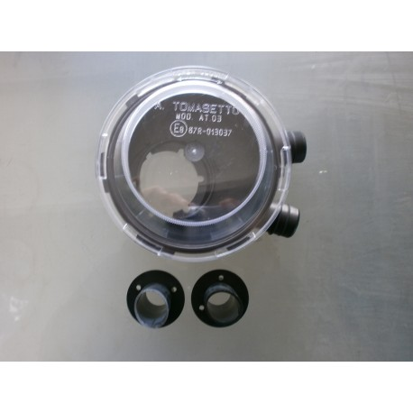 Airtight cylindrical tank housing