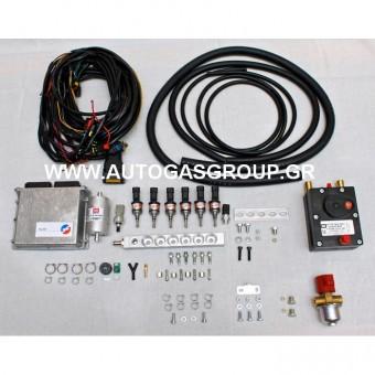BRC PLUG AND DRIVE GENIUS MAX PRICE 600.00€ 6 CULINDER ORANGE INJECTOR 216/KW