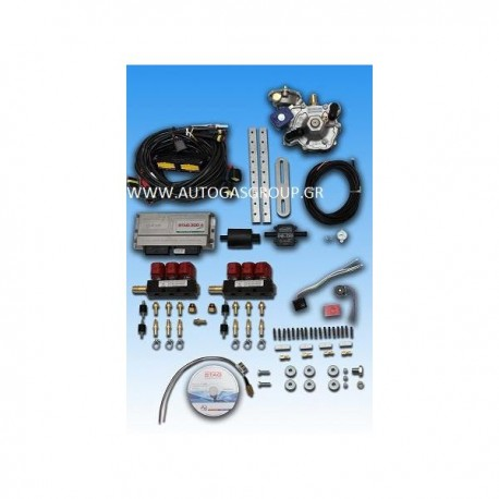 STAG300-6  6 CYLINDER MINI KIT 130/KW
